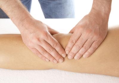 Лечение травматического бурсита массажем