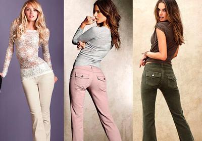Вельветовые брюки: с чем носить?